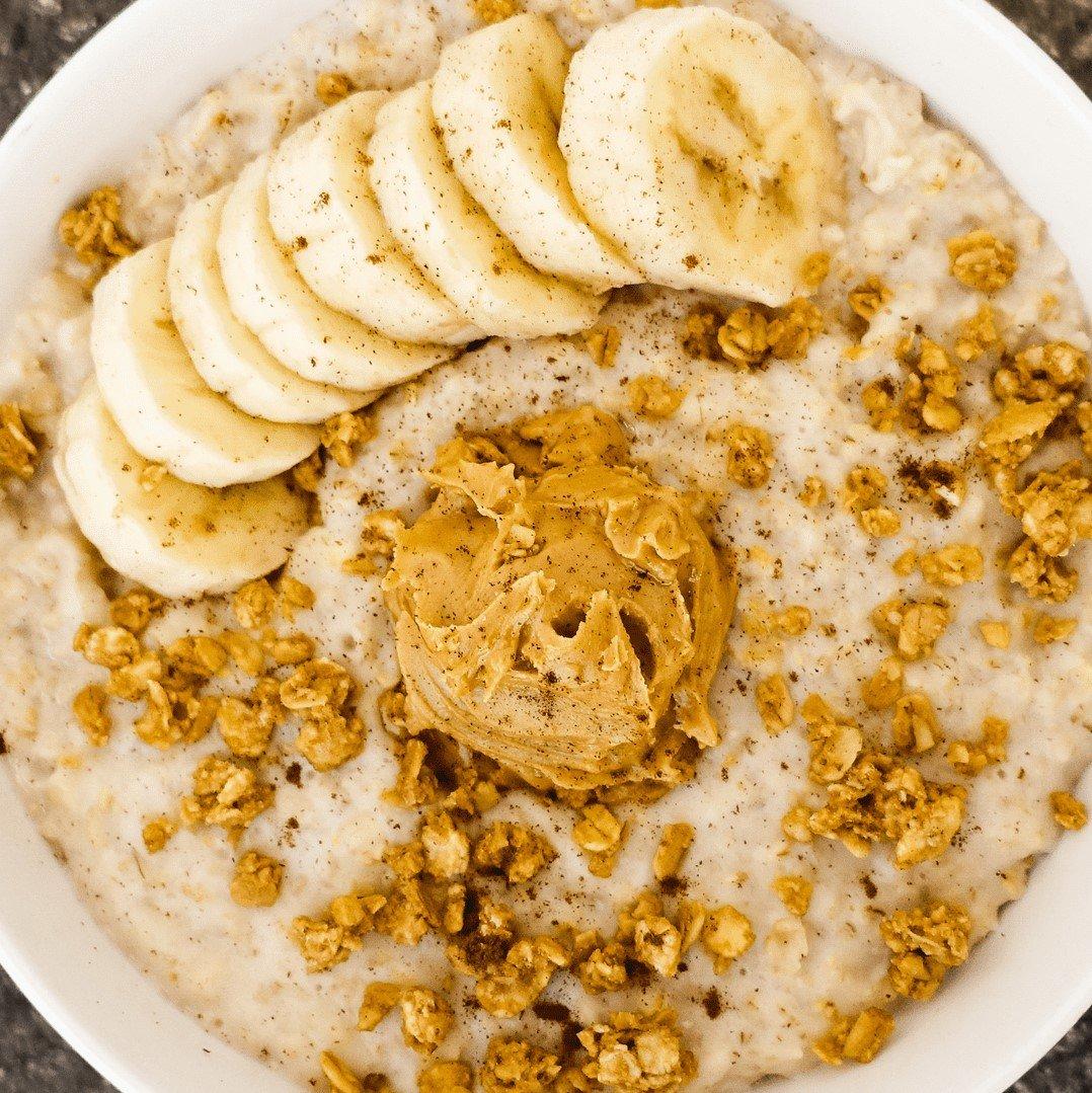 Vegan-Peanut-Butter-Banana-Steel-Cut-Oatmeal