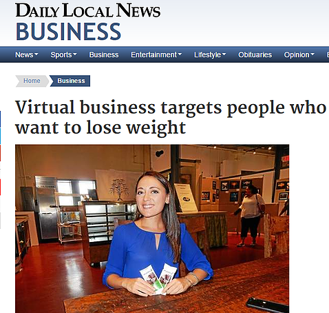The Chester County Daily Local News featured our virtual approach to nutrition and weight loss in a recent article.