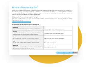 diverticulitis 7 day plan
