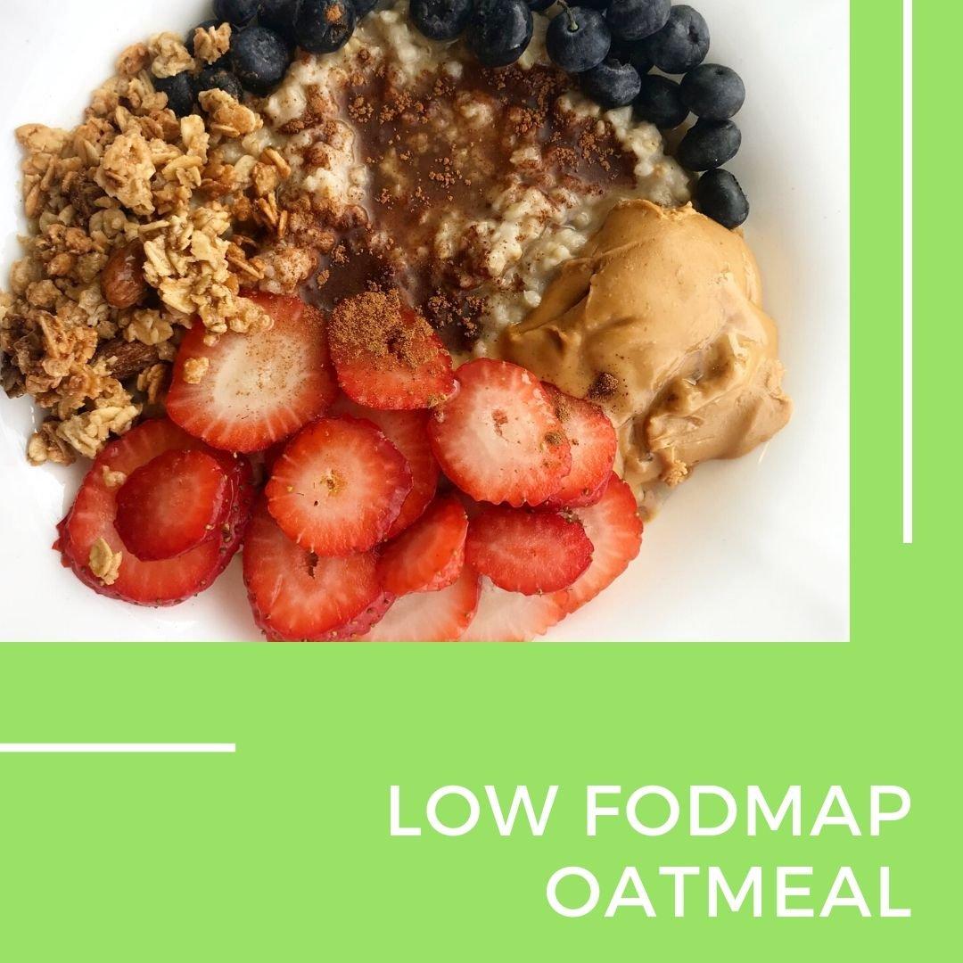 Low fodmap oatmeal