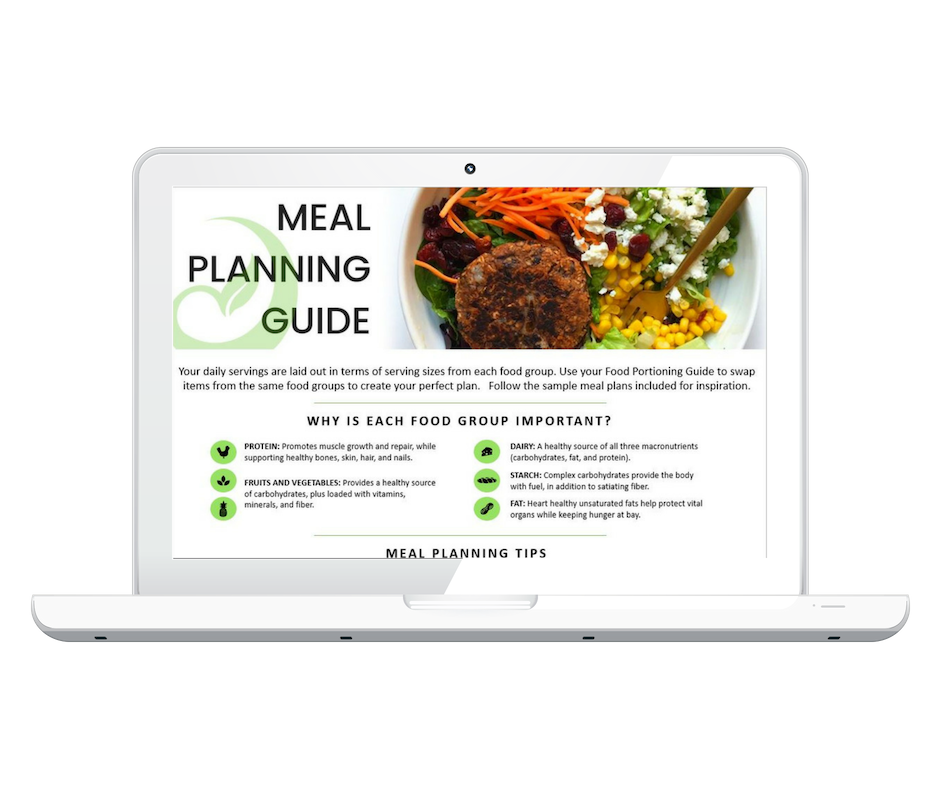 During the weight loss phase, you meet with a nutrition counselor twice per week for 30 minutes; either online, on the phone, or in-person.  During meetings, you review your food intake and construct a meal outline for the upcoming week.