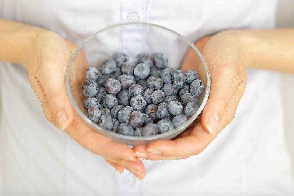 Low FODMAP Fruits - Blueberries
