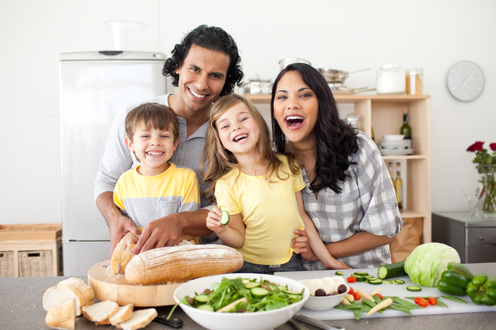 Healthy living is for the whole family.