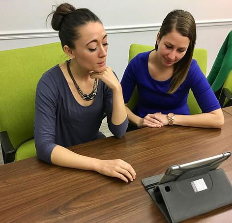 Britney Kennedy & Annie Courto discuss our approach with the University of Deleware's 'the review'