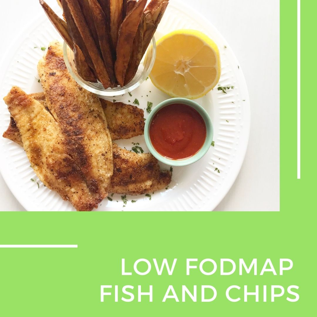 Low fodmap Fish and Chips