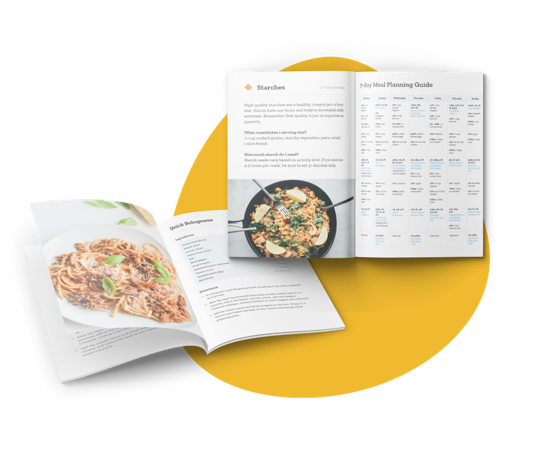 meal plans and recipes